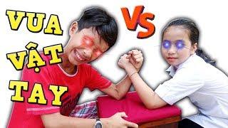 Tony   Thằng Ngáo KÉO TAY Cân Team Trẻ Trâu - Arm Wrestling Of Children