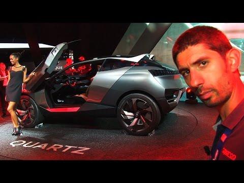 Peugeot Quartz al Salone di Parigi 2014