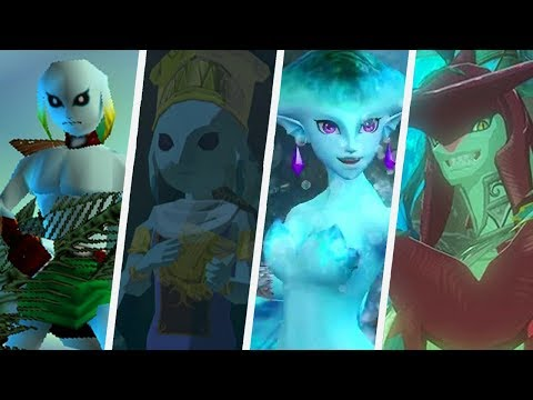 Zelda Evolution of Zora (1998 - 2017)
