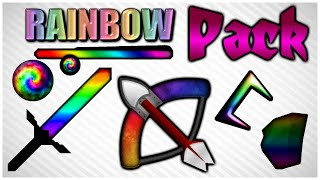 ★ Minecraft PvP Texture Pack Rainbow Pack ★