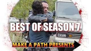 TOP 3 BEST EPISODES of The Walking Dead Season 7
