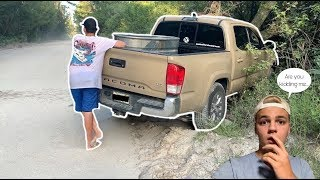 I CRASHED My FRIENDS CAR PRANK!! *he was pissed*