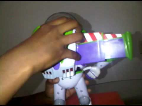 Blast Off Buzz Lightyear: Change Battery.