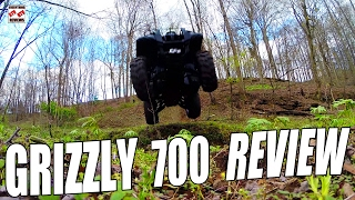 GRIZZLY 700 TEST REVIEW: Pushing the 2007 Best Selling Big Bore ATV Off-Road