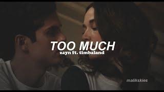 Zayn Too Much Ft Timbaland Traducida Al Español
