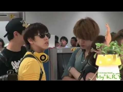 [HQ close fancam] 110902 Super Junior at Gimpo Airport leaving for Japan