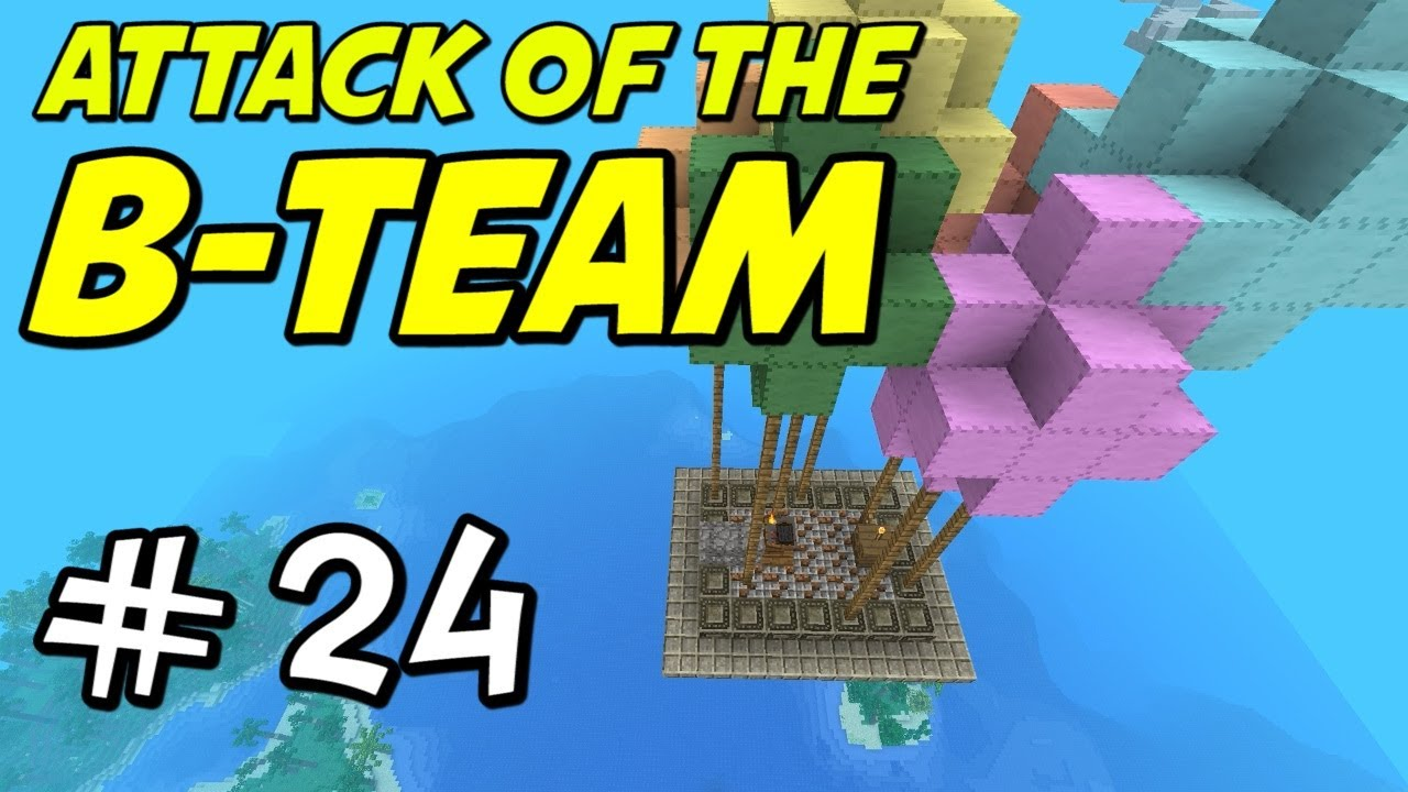 Minecraft attack of the b team e24 quot beautiful balloon altar