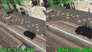 GTX 770 2Gb vs 770 4Gb in GTA 5