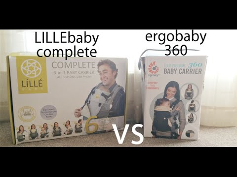 LÍLLÉbaby COMPLETE vs Ergobaby 360 Carrier Comparison