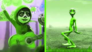 Learn Colors With Coco Craziness, FUNNIEST, Alien Dame Tu Cosita Dance ||