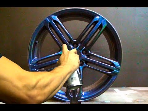 Plasti Dip Color Metalizers - Violet, Red, Blue and Green