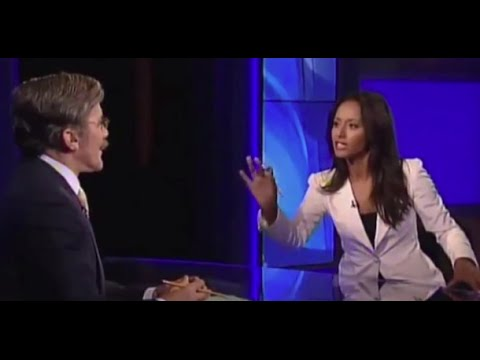 Fox News' Geraldo Rivera Stunned After Rula Jebreal Points Out: No Arabs at Fox News