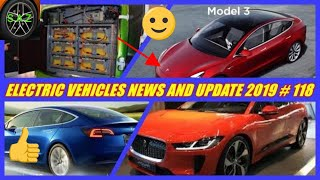EV NEWS AND UPDATE INDIA /Tesla car catch fire in china/electric bus update/jaguar i pace electric