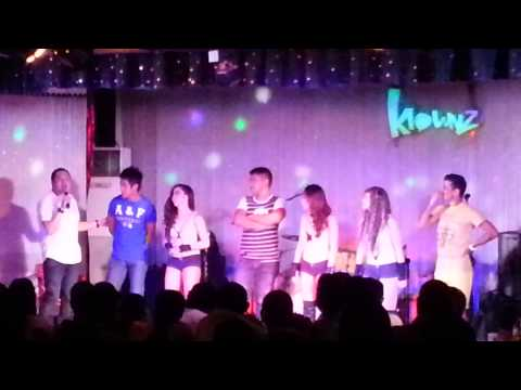 Stage dance with Sex Bomb - Jopay @ Klownz Comedy Bar, Quezon Aven, PH