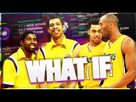 COULD MAGIC JOHNSON, KAREEM, & YOUNG KOBE SAVE THE LAKERS? NBA 2K16 MYGM/MYLEAGUE