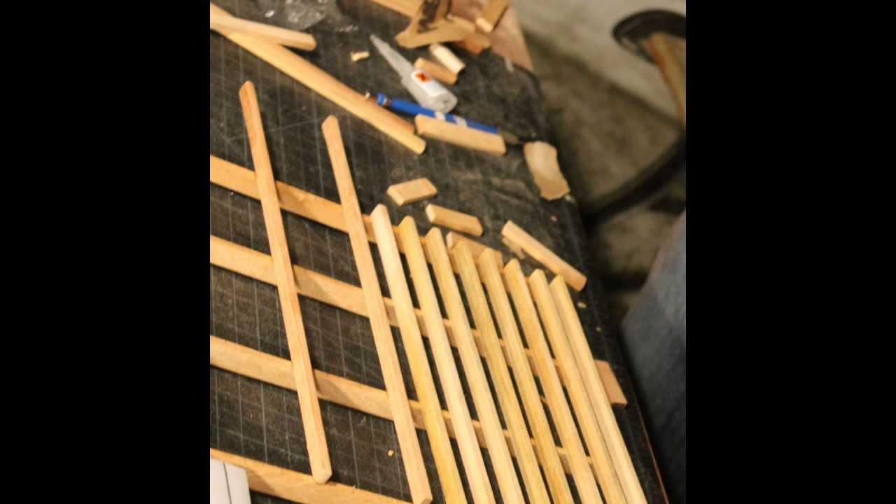 Maqueta casa de dos niveles construccion 2 madera youtube - Construccion casas de madera ...