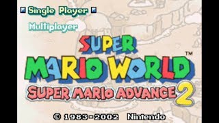 Super Mario Advance 2 with Improvement Patches - World 1
