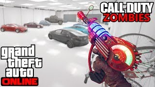 CALL OF DUTY GTA 5 GARAGE ZOMBIE SURVIVAL! (Call of Duty GTA 5 Zombies Mod)