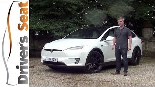 Tesla Model X 2017 Review | Driver's Seat