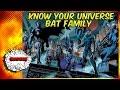 The Bat Family (Batman) - Know Your Universe (Ft. Sal!)