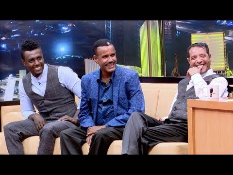 Seifu on EBS with Abebe Melese, Aregahegn Werash and Sami - Part 2