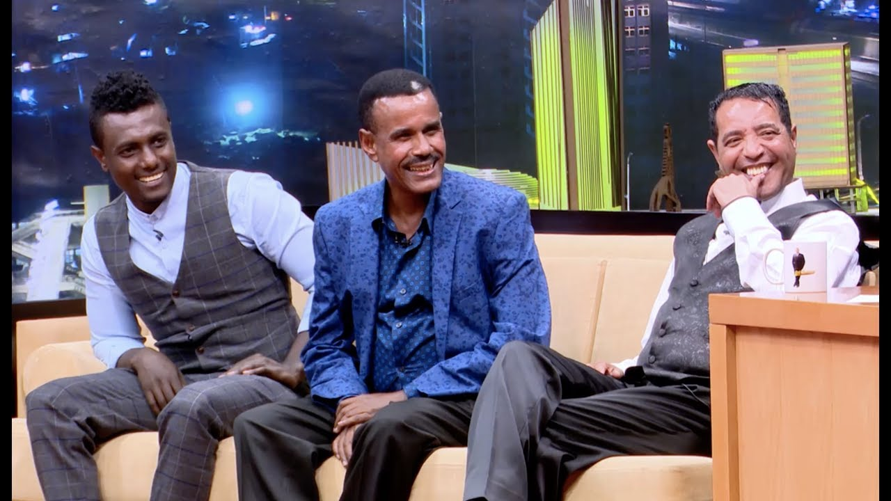 Seifu On EBS TV Show Interview With Abebe Melese, Aregahegn Werash