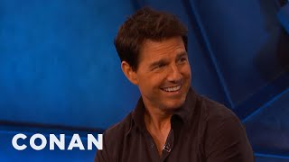 Tom Cruise On His Most Death-Defying Stunts - CONAN on TBS