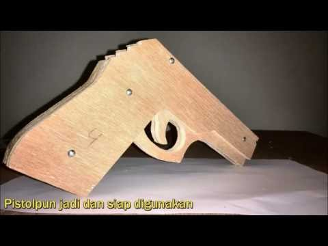 Rubber band gun toy (Re-Compiled)
