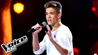 "Kuba Szmajkowski - ""There's Nothing Holdin' Me Back"" - Przesłuchania - The Voice Kids Poland"