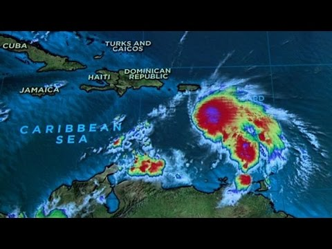 Matthew becomes fifth hurricane of Atlantic season
