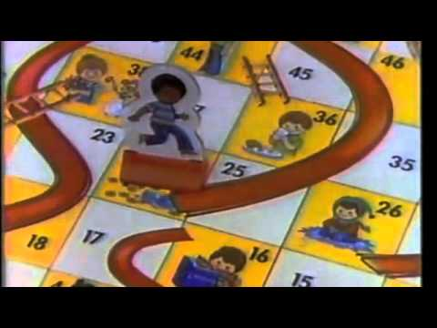 Chutes & Ladders Retro Commercial