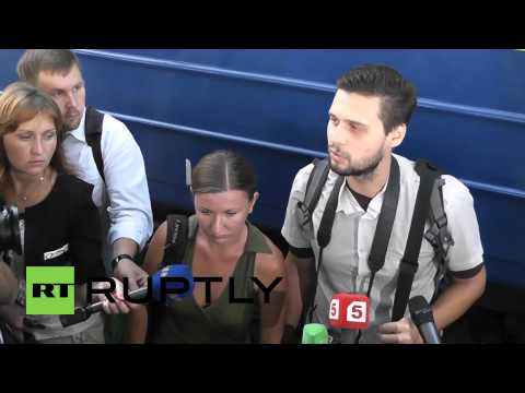 Russia: Two Crimean journalists set free by Ukraine's Right Sector