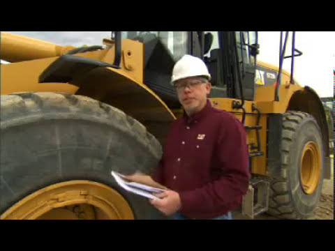 Maquinaria pesada Caterpillar - Inspeccion diaria alrededor de la maquina