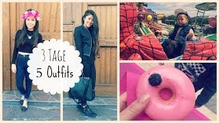 Follow me Around: 3 Tage 5 Outfits by Nhitastic