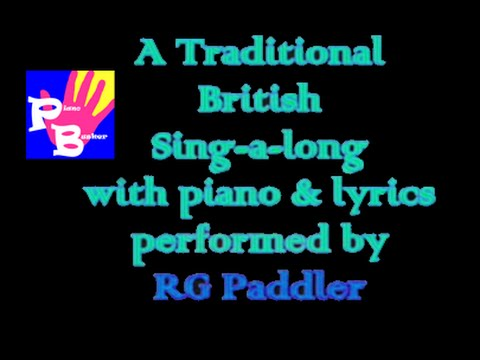 piano busker - A Popular British Community Singalong! (lyrics,songsheet,mp3)