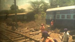 YPR - MFP TRAIN ACCIDENT SITE, CHITTERI SKIPPED BY HWH - YPR DURONTO