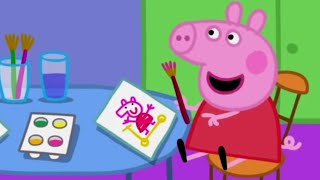 Peppa Pig English Episodes | Painting Pictures | Peppa Pig Official