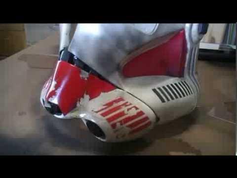 StarWars: Making a Clone Trooper Helmet - SHOCK TROOPER