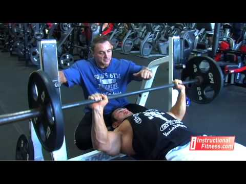 Instructional Fitness - Bench Press Image 1