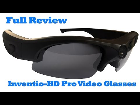Inventio-HD Pro 1080P Video Sunglasses Full Review. Spy Glasses from SpyTec