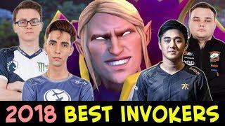 BEST INVOKERS of 2018 — Dota 2