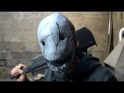 как сделать маску ТРАПЕРА How to make Trapper's mask