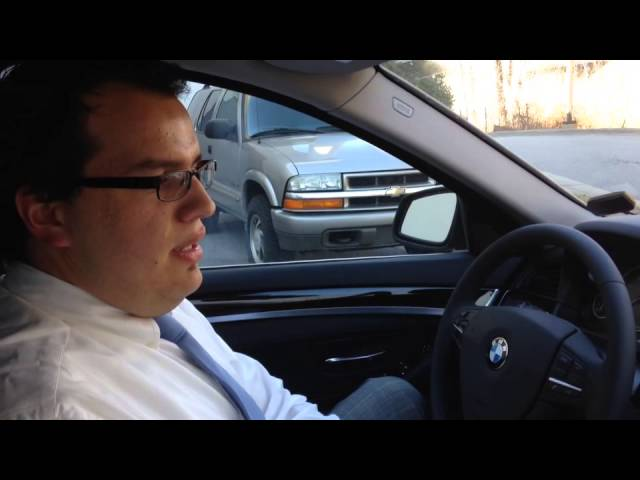 BMW Auto Start Stop Function - YouTube