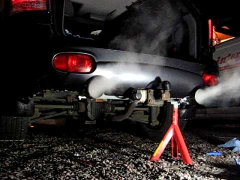Hyundai Santa Fe Custom Twinpipe Exhaust System Youtube