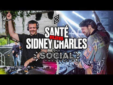 Sante B2B Sidney Charles live DJ set @ The Social 2017