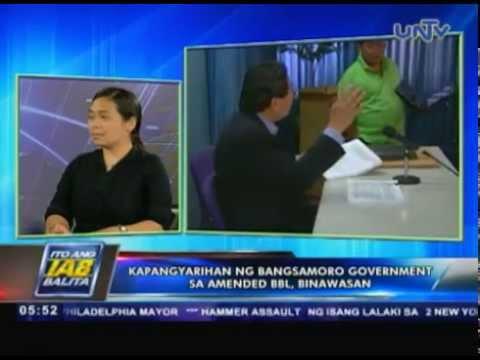 Kapangyarihan ng Bangsamoro government sa amended BBL, binawasan