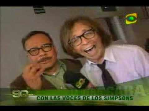 Voces de Marge y Homero Simpson estan en Lima para el Conamyc 2009