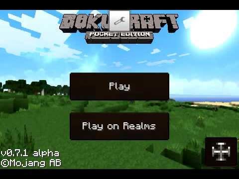 Pack de Textura Dokucraft Minecraft PE 0.7.1