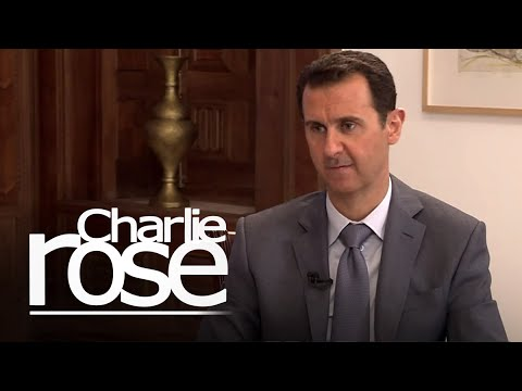 Syria's Bashar Al-Assad on Saudi Arabia and Turkey (March 30, 2015) | Charlie Rose