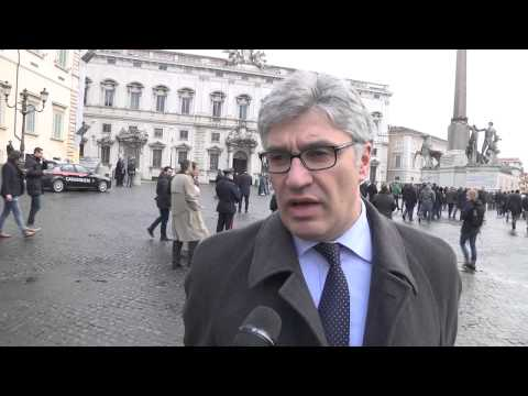 Pensioni - Nunziante Consiglio protesta davanti alla consulta